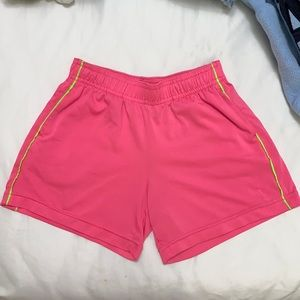 Pink and Green Shorts